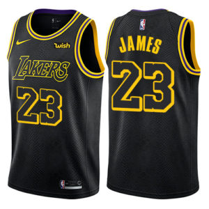 LeBron Lakers Jersey